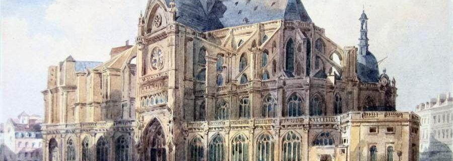 Les Halles. Ma paroisse. Par Jean-Pierre Dufreigne.