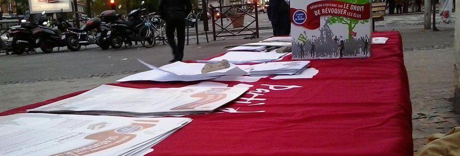 Résultats de la votation citoyenne sur Montreuil et l'ensemble de la France