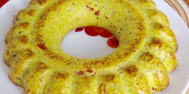 Flan de légumes du soleil/saumon