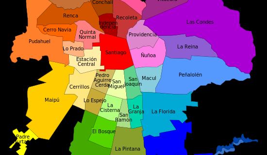 Über Santiago