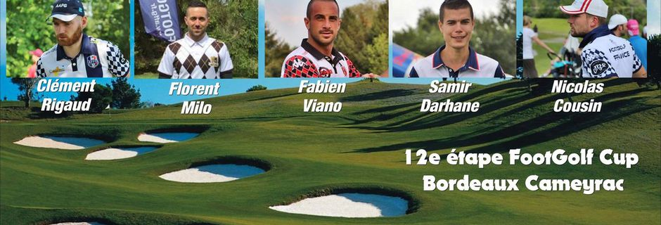 Top 5 FootGolf Players - Bordeaux 12e étape