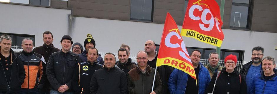 Les métallos de Drome Ardèche sont en colère