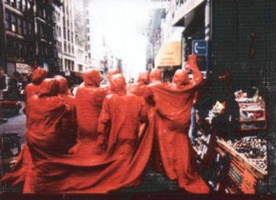 "The Red Coat ''Same Skin For Everybody"" @ Nicola L. 1992"