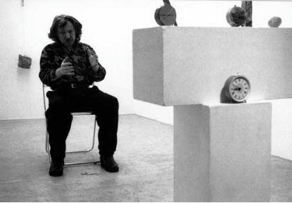Czas europejski-czas azjatycki @ Zbigniew Warpechowski. 1990. Galerie Lydia Mergert. Bern. photo. Martin Rindlisbacher