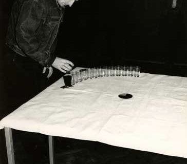 Moje pietnascie minut @ Zdzislaw Kwiatkowski. 1993. Galerie Stara. Lublin. photo. Witold Rusin