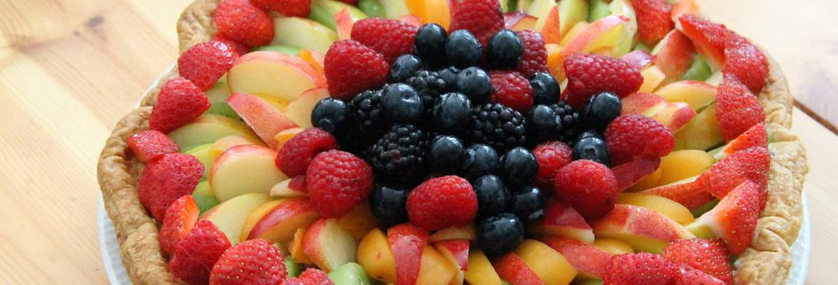 Tarte aux fruits gourmande