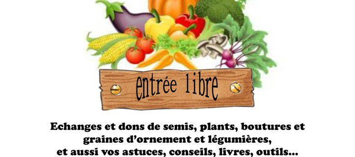 Troc plantes et graines à