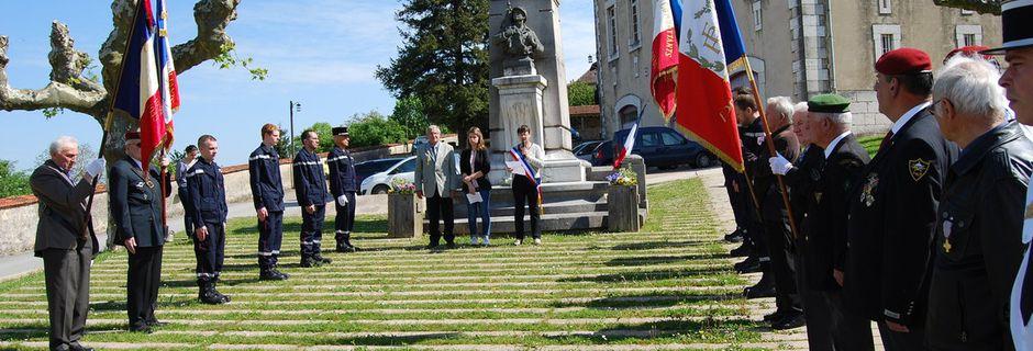 Commémoration 8 mai 2016 à Treffort-Cuisiat et Pressiat