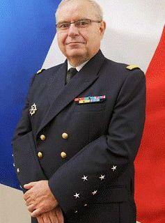 Amiral Bernard ROGEL, nouveau chef d'état-major particulier du Président de la République