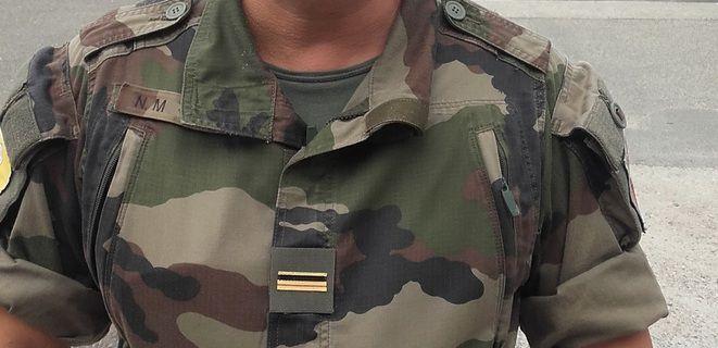 Nasser M. promu Major