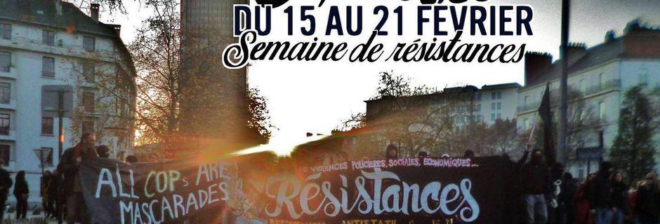 Semaine de résistances aux #etatdurgence à...
