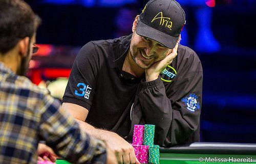 Phil Hellmuth et son 14e bracelet de poker