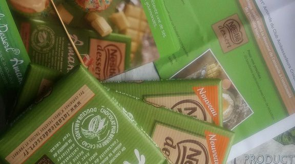 Ambassadeur chocolat 🍫  amandes Nestlé