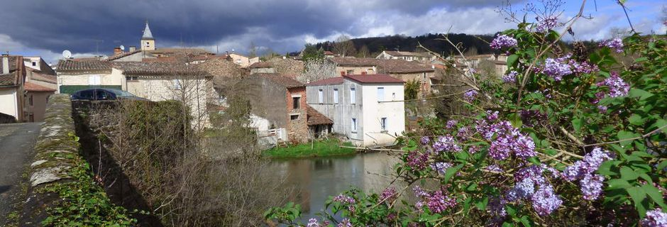 Le Pont Vieux de Lafenasse.