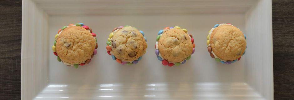 Whoopies cookies mascarpone et smarties