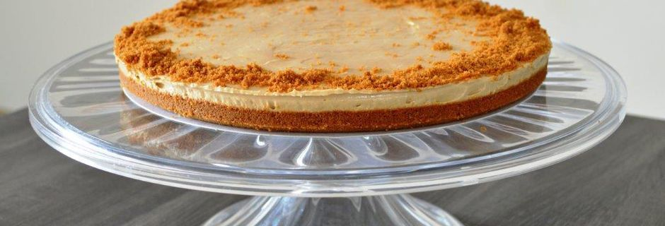 Cheesecake tout speculoos, sans cuisson