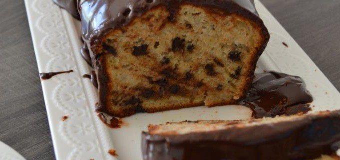 Banana bread noisette et pépites de chocolat