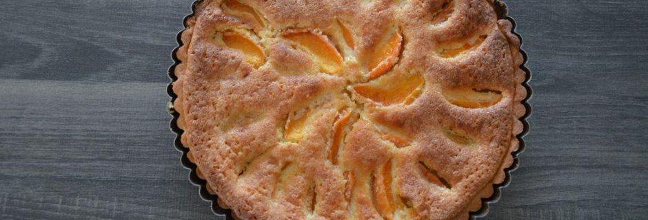 Tarte Bourdaloue aux abricots