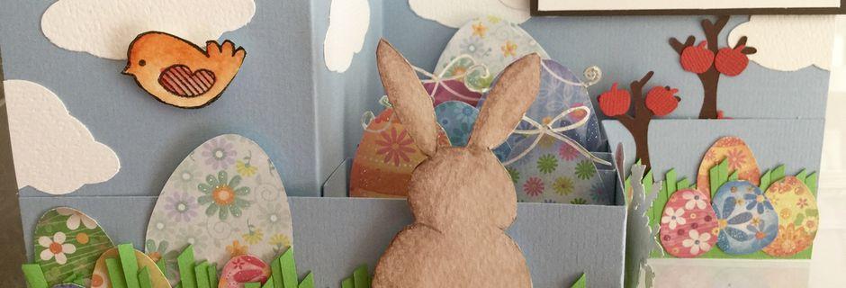 Carte pour les Fêtes de Pâques...