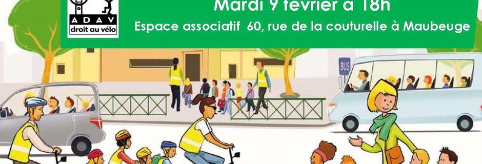 Réunion de Droit Au Vélo Maubeuge