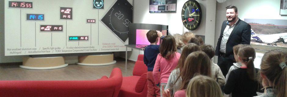 Sortie des élèves de CE 1 à Gorgy Timing