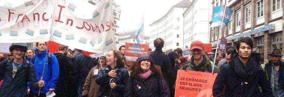 Lancement de la campagne France Insoumise pour les législatives de juin 2017