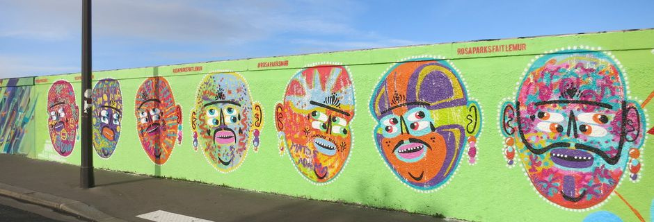 Street art du 18è au 19è
