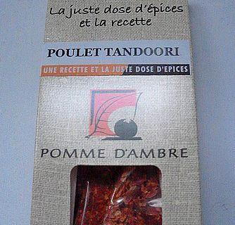 Blanquette de dinde aux épices tandoori