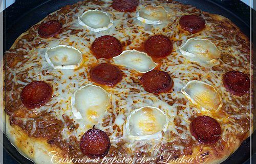 Pizza fonds de frigo
