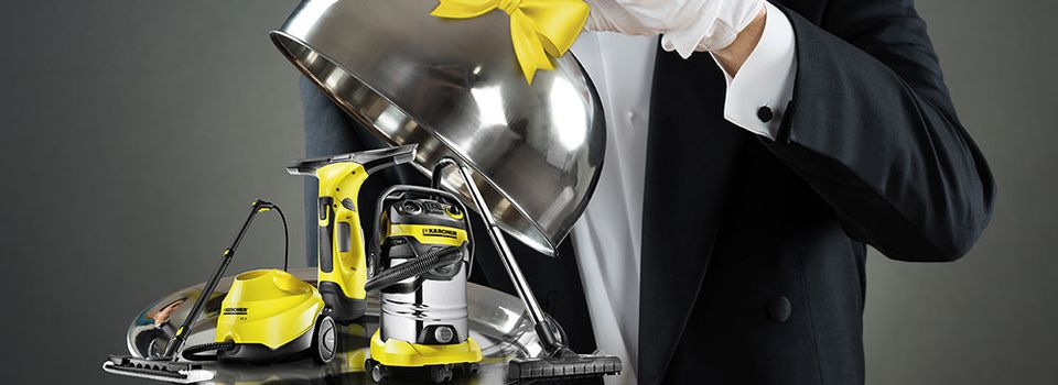 Home cleaning di Kärcher e vinci premi e pulizie