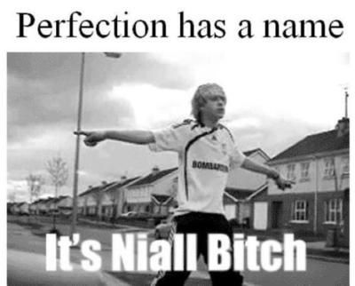 It's Niall Bitch :D