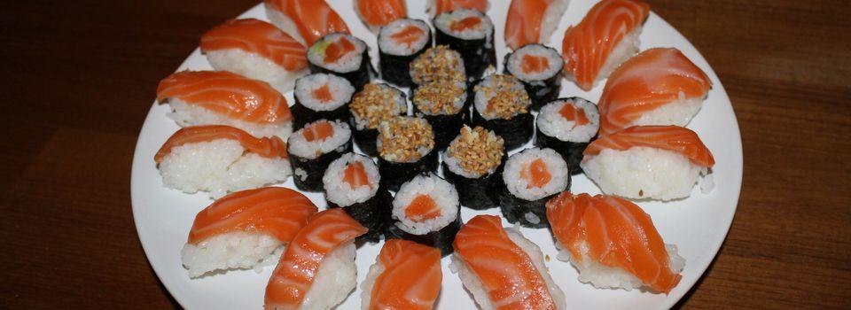 Des Sushis avec ses amis..et sashimis.