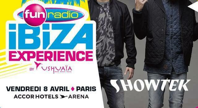 Podcast : Showtek - Fun Radio Ibiza Expérience