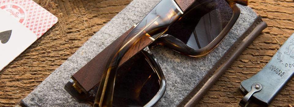lunette bois SHWOOD