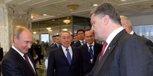 Ukraine : Les contours de l'accord entre Poutine et Porochenko se précisent