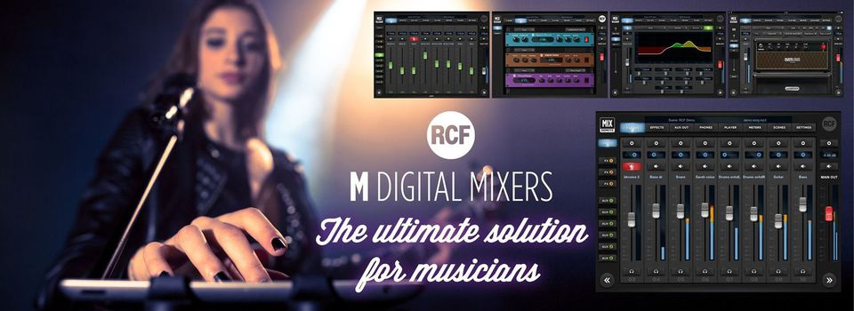 RCF M Series of Digital Mixers