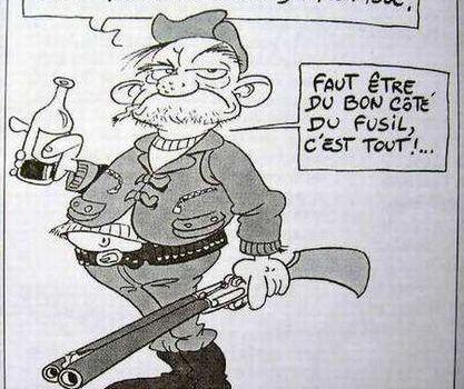 LES FRANCAIS ONT PEUR DE LA CHASSE