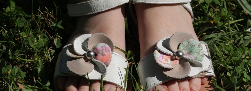 Des petits pieds parés pour l'été !!!
