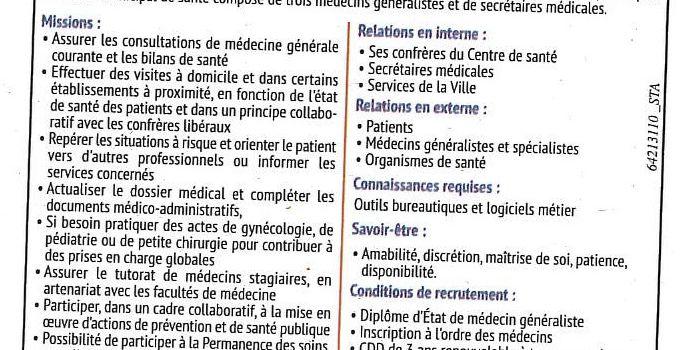 Vers la guerre des médecins à Bergerac ?