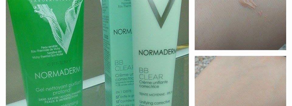 Test Vichy Normaderm (BB Cream/nettoyant)