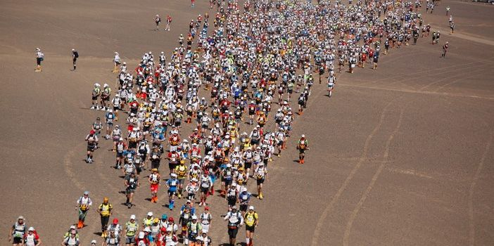 31ème édition du Marathon des Sables du 08 au 18 avril Sahara Sud Marocain