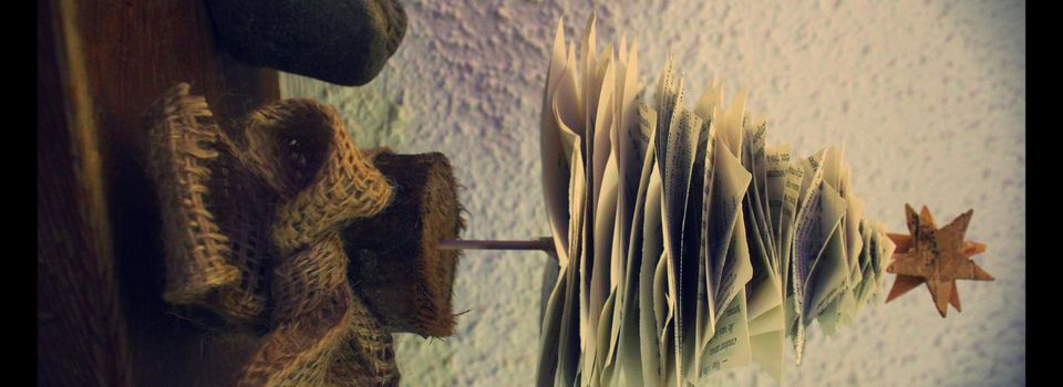 Sapin en Papier Home Made