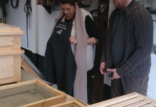 Atelier Lasure à la Ferme Jardin'Hier de Marcq-en-Baroeul