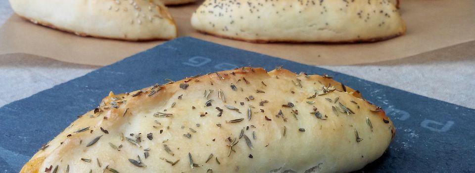Petits pains briochés farcis