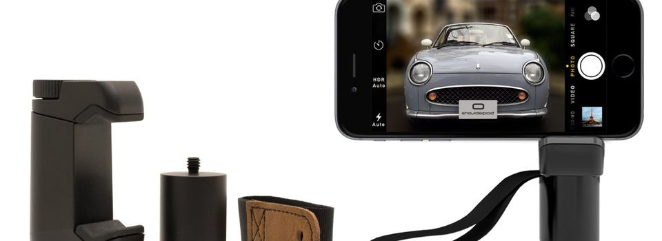 Poignée et adaptateur trépied pour iPhone (S1 pro grip)