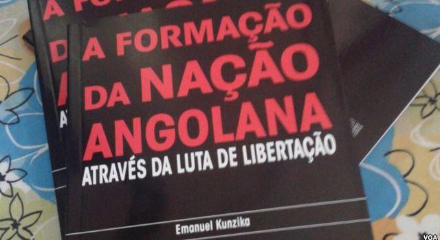 Livro de Emanuel Kunzika aborda contexto da luta de libertação em Angola