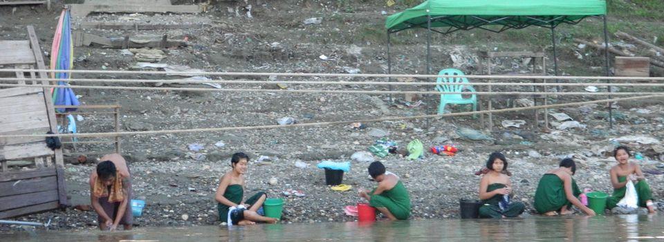 Le long périple sur la rivière Chindwin
