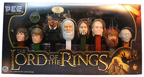 PEZ : THE LORD OF THE RINGS -  BILBO : Mangez des Pez !