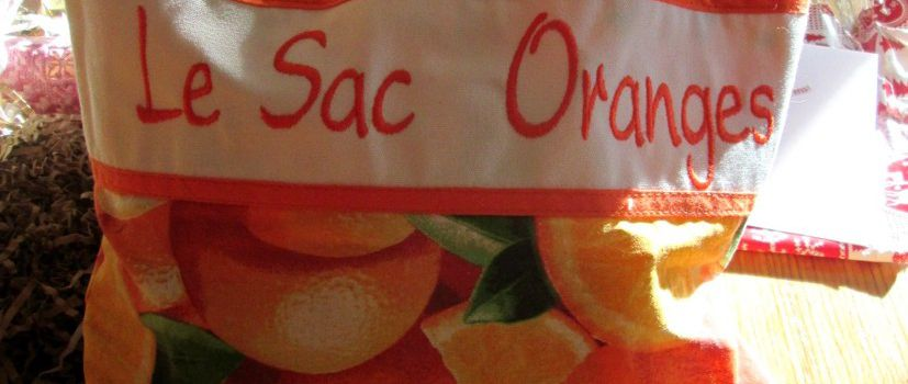 sac orange - jeu