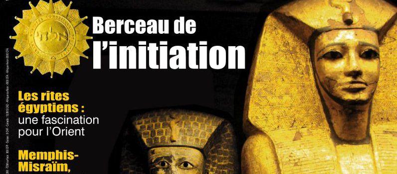 L'Égypte, un grand classique dans « Franc-maçonnerie magazine », n° 50